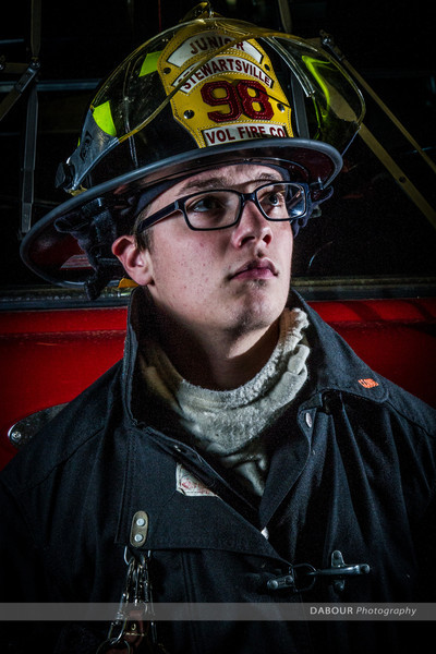 Damian Ferguson, Junior Firefighter, 98 Fire, SFD