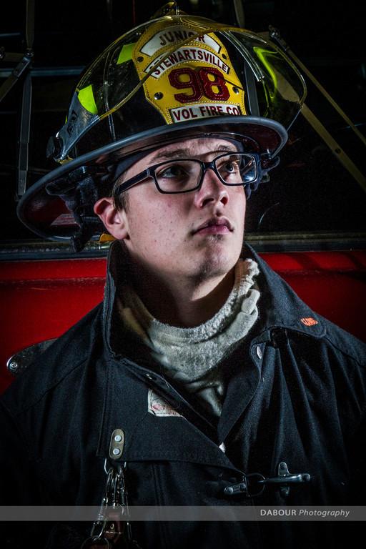 Damian Ferguson, Junior Firefighter, 98 Fire, SFD