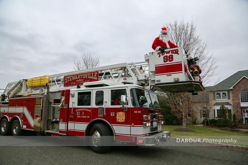 Santa Comes to Greenwich Twp