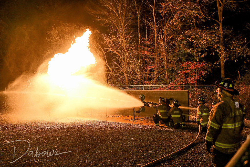 Warren County Fire Academy Training 2016