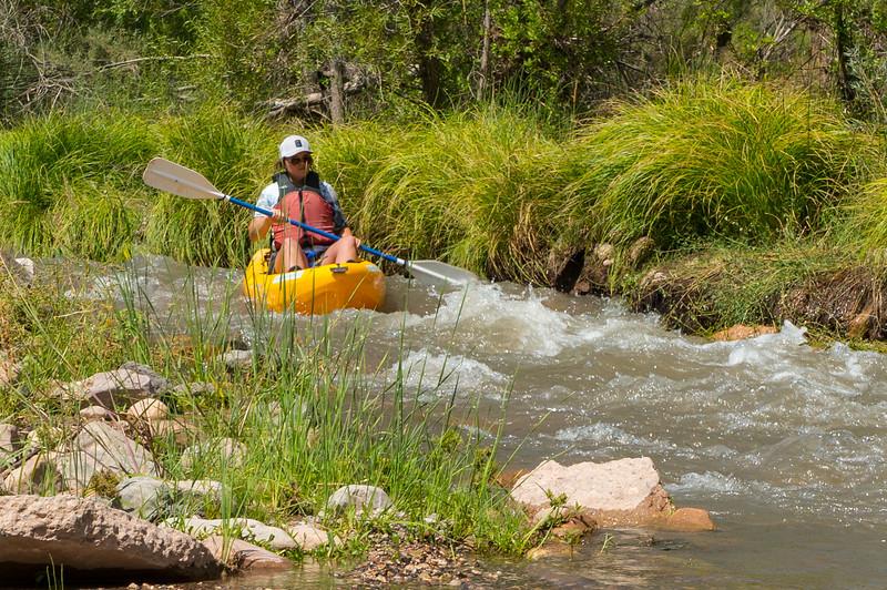Verde River Institute Float, Tapco to Tuzi, 9/9/19 60 CFS