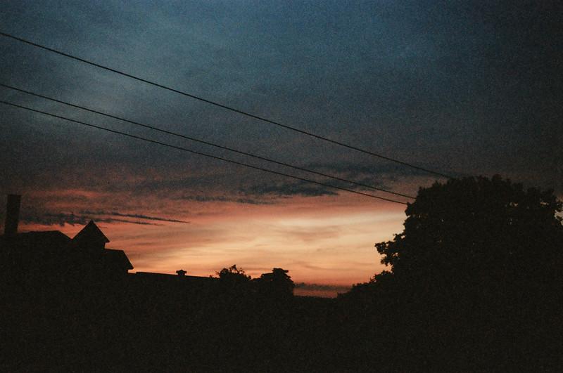 09-92 Dayton 01 sunset