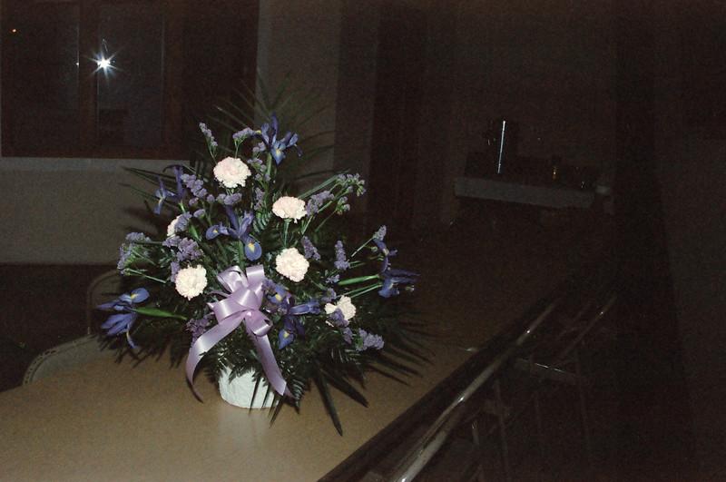 06-08-92 Dad's Memorial Service 40 flowers