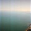 06-06-92 Lake Michigan 01 from plane