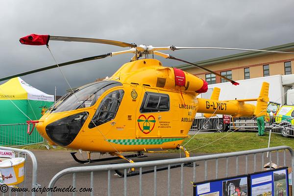G-LNCT MD900 Lincs & Notts Air Ambulance @ RAF Waddington International Airshow