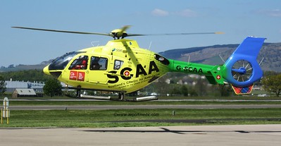 G-SCAA EC135 Scotland's Charity Air Ambulance @ Glasgow Airport (EGPF)