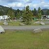 Though the local canoe making camp marker is a mile up the road, I believe this is the actual site of the canoe camp.  The large track of land was large enough to handle 32 people at a camp and provided flat level ground. It is today an RV/camper campground. An elderly gentle that grew up in the area also was quite confident that this was the site and the marker downtown was just a convenient place for a marker and sign.