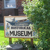 The local canoe museum is in a local town and several miles north of the actual site.