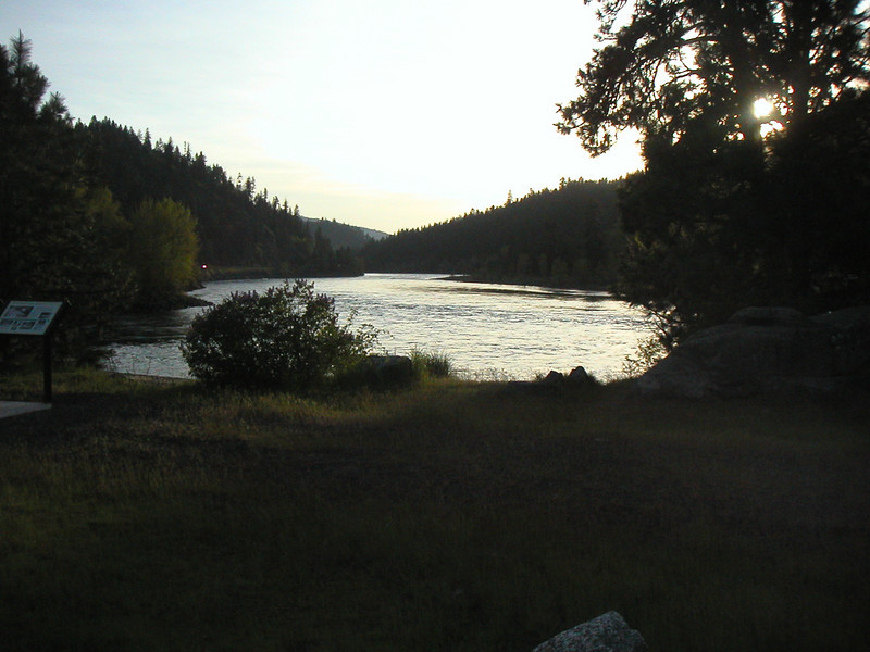 I feel this is probably the site were the dugout canoes were launched into the Clearwater River.