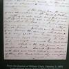 Copy of Clark's journal writings.