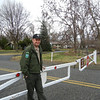 I arrived at the Sacajawea State Park on March 16th, 2012 to find it was closed for the Winter.  This State Forest ranger saw me arrive and with sympathy opened the museum for my investigation.  I spent an hour browsing around the museum.