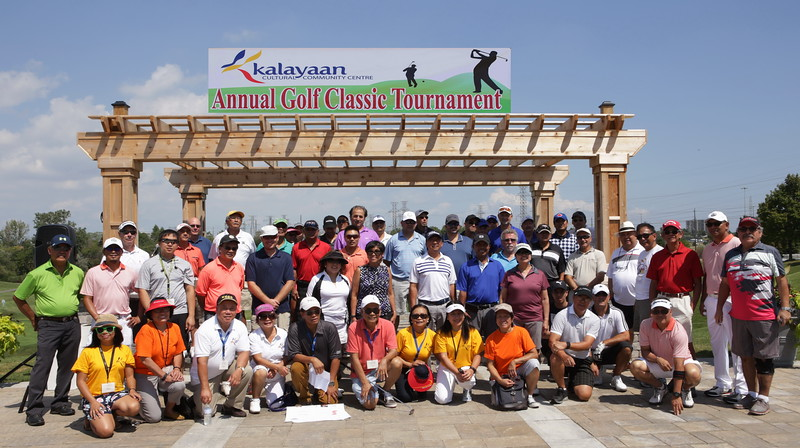 9th Kalayaan Annual Golf Classic Tournament which was held at Royal Woodbine Golf Club located at Galaxy Blvd , Toronto