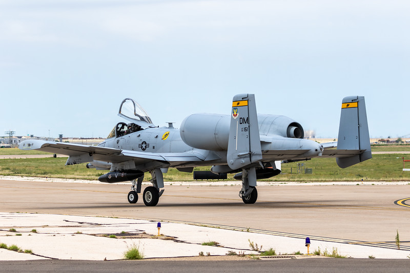 """-(Aircraft)  Fairchild Republic A-10C Thunderbolt II<br /> -(Nation & Service) United States Air Force<br /> -(Squadron) 357th Fighter Squadron """"Dragons""""<br /> -(Home Base) Davis–Monthan Air Force Base, Arizona<br /> <br /> *Note: Flying as part of the 2018 A-10 Demo Team"""