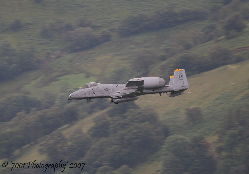 82-0654/'SP' (81 FS marks) A-10 - 16th July 2007.