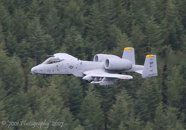 80-0281/'SP' (81 FS marks) A-10 - 25th July 2007.