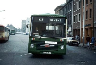 AA Motor Svces DSR135V Irvine X Mar 85
