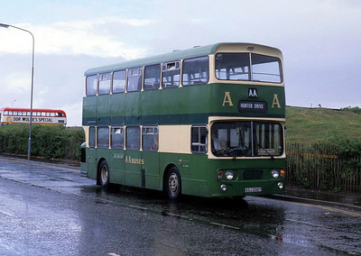 AA Motor Svces ASJ206T Irvine Harbour Jul 88