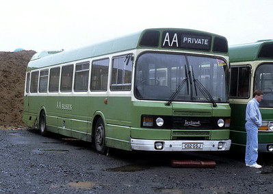 AA Motor Svces C112GSJ Dodds Depot Troon Jul 92