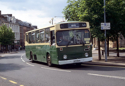 AA Motor Svces E77RCS High St Irvine Jul 97