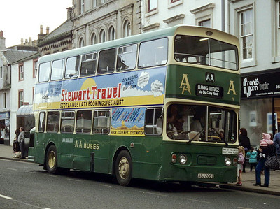 AA Motor Svces ASJ206T High St Irvine Feb 94