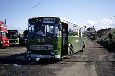 AA Motor Svces C351SVV Dodds Depot Troon Apr 93