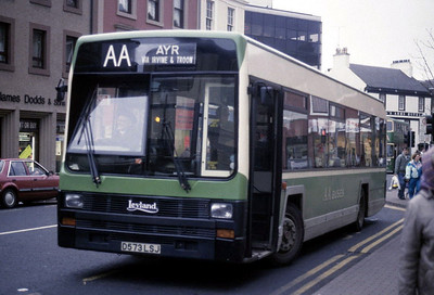AA Motor Svces D573LSJ High St Irvine Mar 90