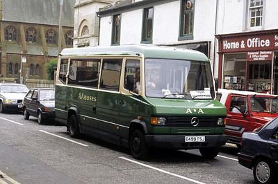 AA Motor Svces E499TSJ Ayr St Troon Jun 91