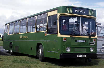 AA Motor Svces E77RCS Irvine Harbour Jul 88