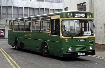 AA Motor Svces E76RCS Arthur St Ayr Jun 91
