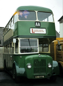 AA Motor Svces GSD779 Doods Depot Troon Oct 82