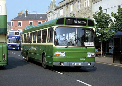 AA Motor Svces EUM889T High St Irvine Aug 91