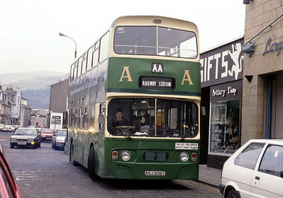 AA Motor Svces ASJ206T Largs Stn Sep 91