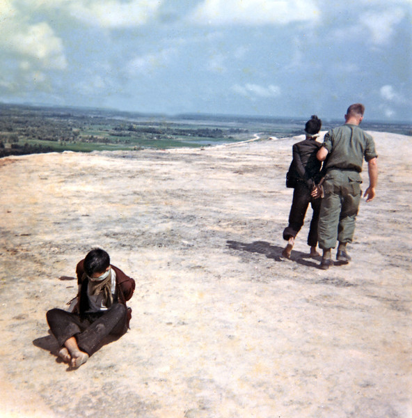 VC Prisoners On Chopper Pad On LZ Liz