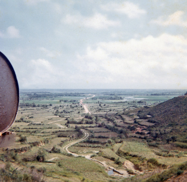 View of Service Road to LZ Liz