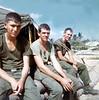 Bobbie Haff, David Anderson, Dwight Moody At Carentan