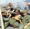 Earl Brown, ?, Ken Koehl, John Nicolazzo on Deck of Gorden 67