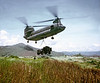 Chinook Dropping Off 3/4 Ton on Jump LZ