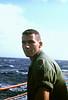Fred Ledder on Deck of Gorden