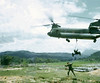 Na Thant Special Forces Camp, Dropping Gun in Position