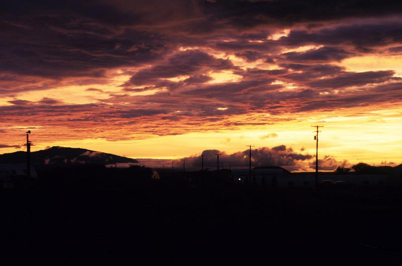 Sunset at PTA