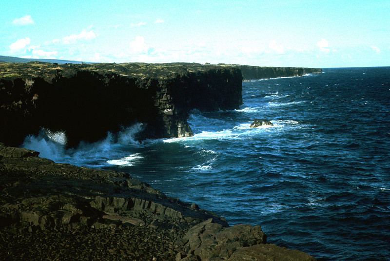 North Shore Cliffs On Big Island