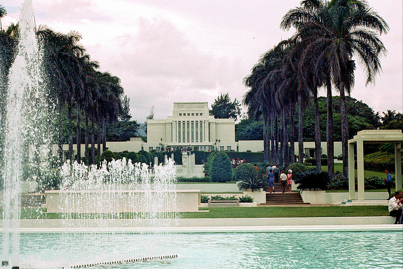 LDS Temple On Oahu