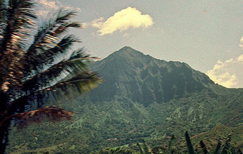 Mt. Olomana On Oahu