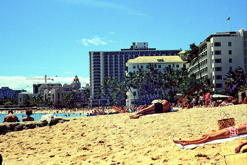 Waikiki Beach Looking South