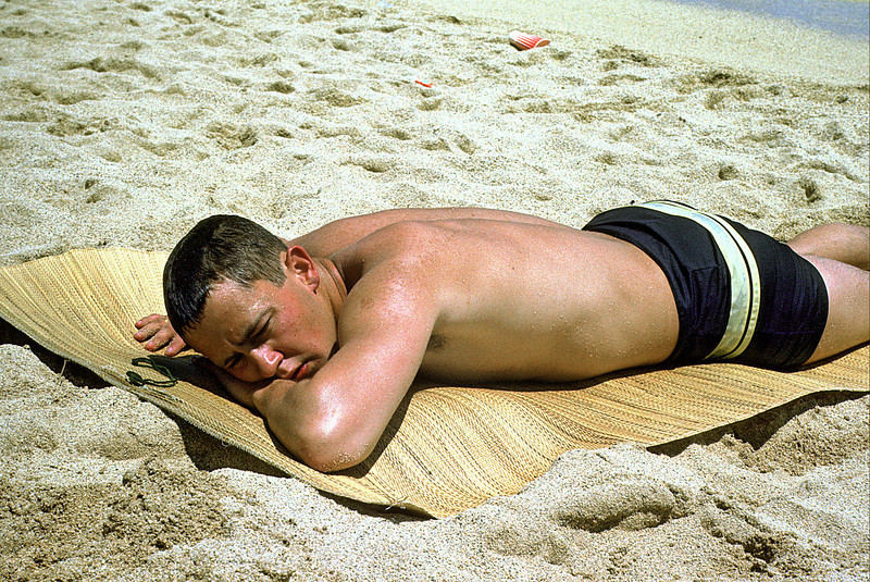 Patrick Bice On Waikiki Beach