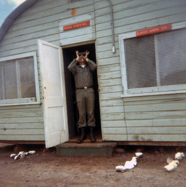 Dick Haviland at Pohakuloa