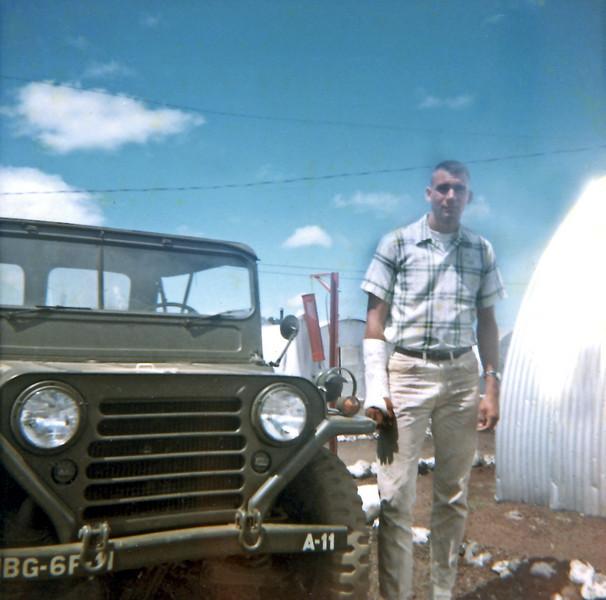Fred Ledder at Pohakuloa