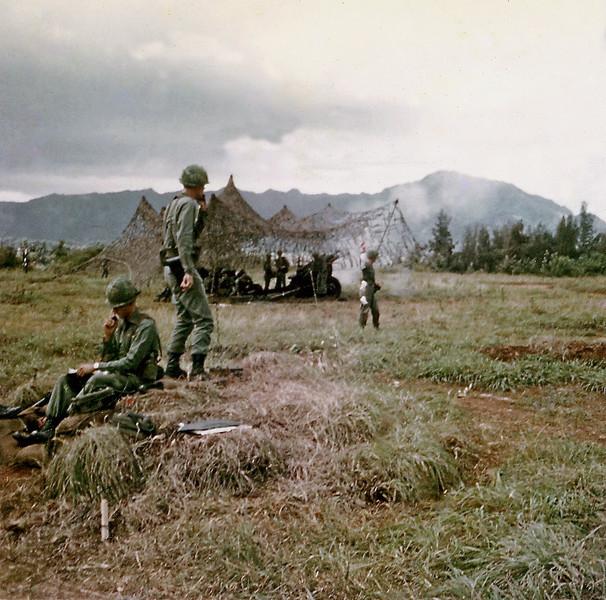 Fred Ledder, Carl Lemke at the Gun Range