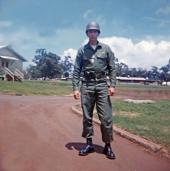 Fred Ledder Before Guard Duty