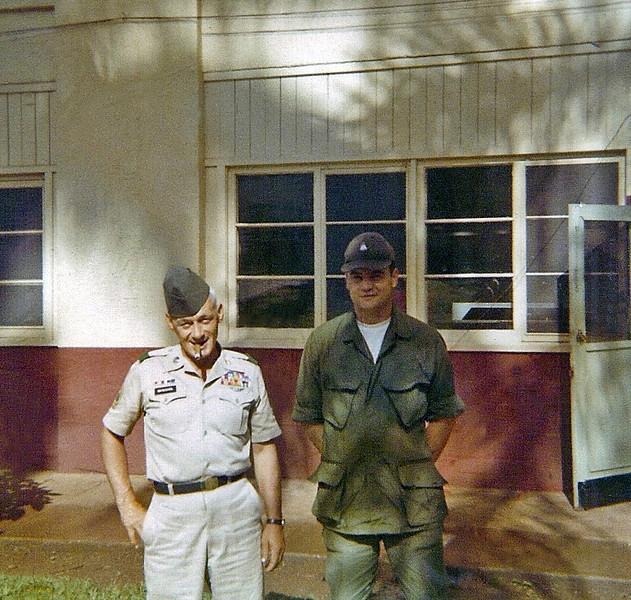 Sgt.John McNicol, Sgt. Walker